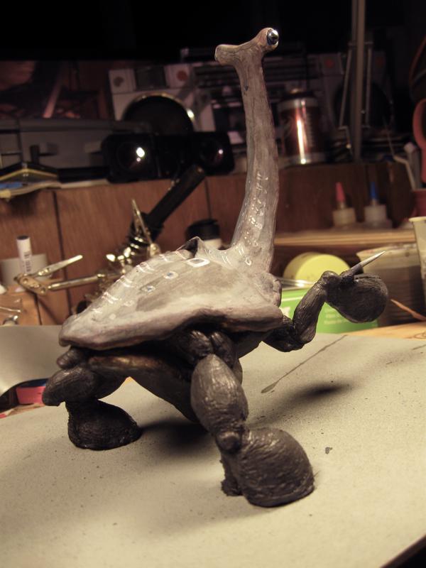 Hind legs and ovipooper